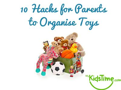 10 Hacks for Parents to Organise Toys **some really cute ideas.  I love the green tubs!