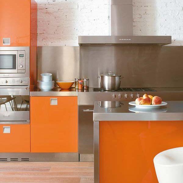 103 best orange kitchen ideas images on pinterest | orange kitchen