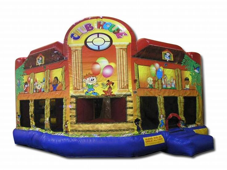 Buy cheap and high-quality Club House Combo. On this product details page, you can find best and discount Inflatable Bouncers for sale in 365inflatable.com.au