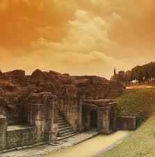 Preciosa. La luz y el encanto que se respiran en las ruinas romanas de Itálica, en #Sevilla, son especiales.