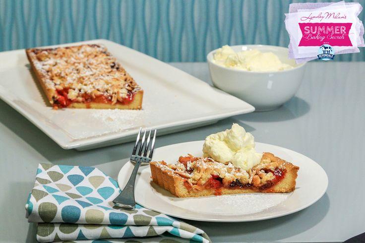 lyndeymilan.com   –  Five spice plum & almond crumble pie
