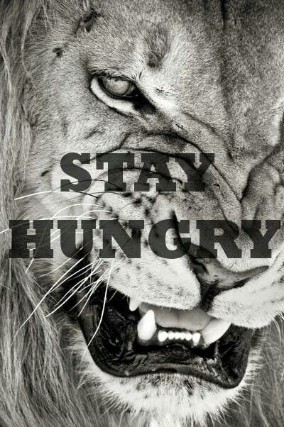 Stay Hungry!