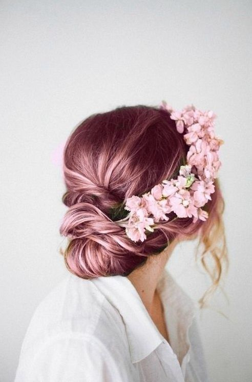 Perfect for a blend of unique but classy hair style. hair color hair colors hairstyles