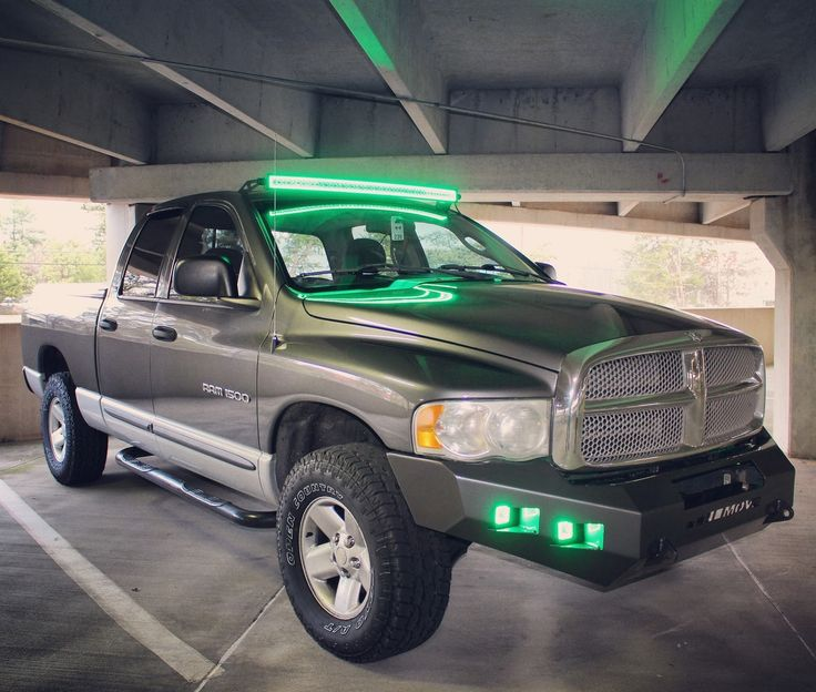 We can't get enough of the lights and bumper on this #RamTruck #MOVEBumpers #Dodge #DodgeTrucks #RamTrucks