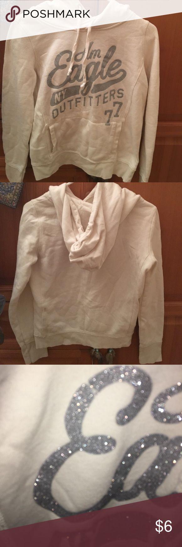 American eagle sweatshirt Off white casual hoodie Tops Sweatshirts & Hoodies