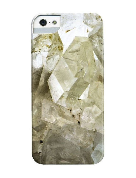 Photo iPhone / Mobile Case  Mineral Quartz Crystal by dsbrennan, $40.00