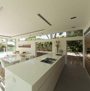 Castlecrag House, Sydney, Australia - modern - kitchen - sydney - Rudolfsson Alliker Associates Architects