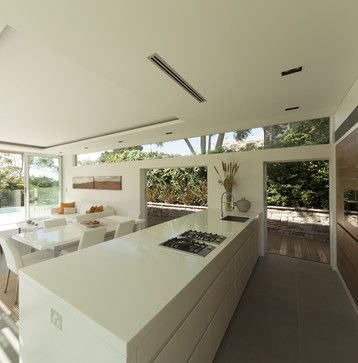 Castlecrag House, Sydney, Australia - modern - kitchen - sydney - Rudolfsson Alliker Associates Architects