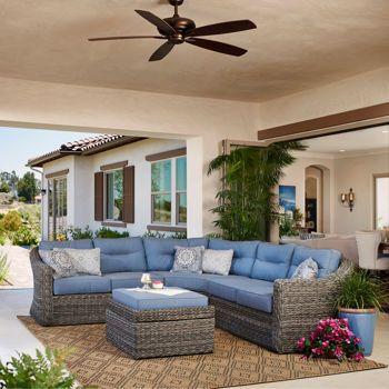 Love this!  Costco  Garden Ridge 4-piece Modular Seating Set by Mission Hills®
