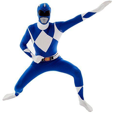 Blue Power Rangers Costume...
