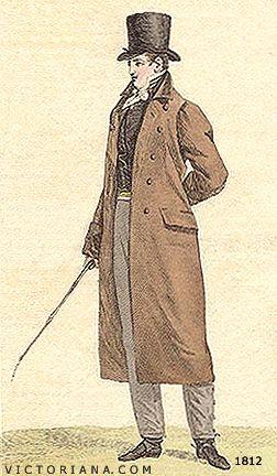 Men's Clothing 1811 - 1812