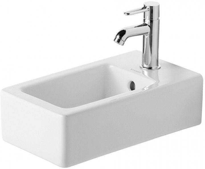 Duravit Vero Lave main 250 x 450 mm blanc (0702250000)