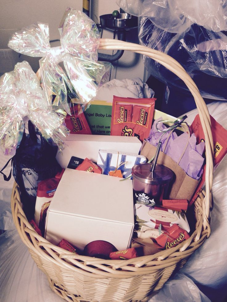 Going away basket full of goodies for a coworker