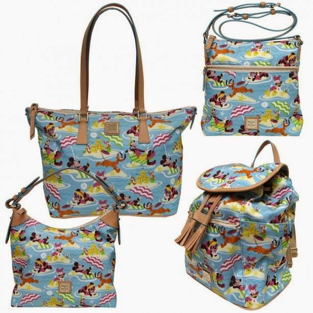 The designers at Dooney & Bourke sure have been hard at work on Disney projects lately. Here are some upcoming bags.