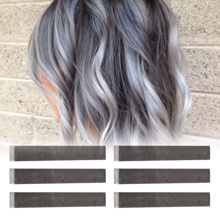 6 Best Temporary Ashy Grey hair Dye for dark and light hair - Set of 6 | DIY Grey hair Chalk for easy and simple hair coloring at home by PastelStrands on Etsy https://www.etsy.com/listing/227302648/6-best-temporary-ashy-grey-hair-dye-for