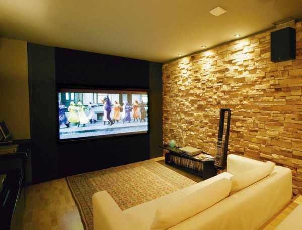 68 best interior brick walls images on pinterest - Interior design for home theatre ...