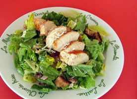 Grilled-#Chicken #Caesar #Salad  This protein-rich version of the classic salad shows why it has become a favourite.