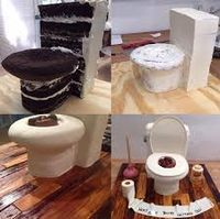 Image result for toilet cake                                                                                                                                                     More
