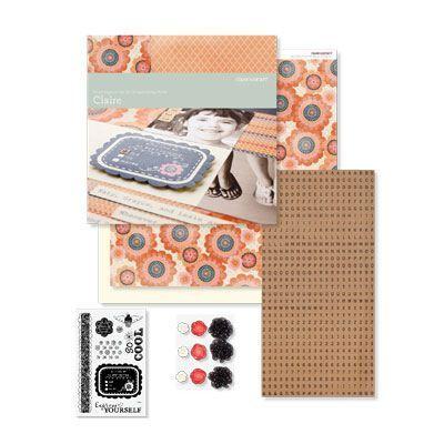 Claire Scrapbooking Kit