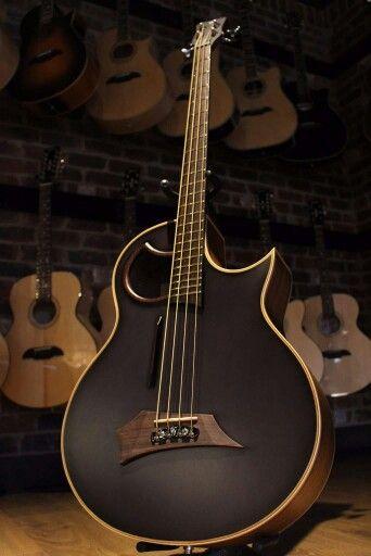 Custom Warwick Acoustic for Nikki Sixx