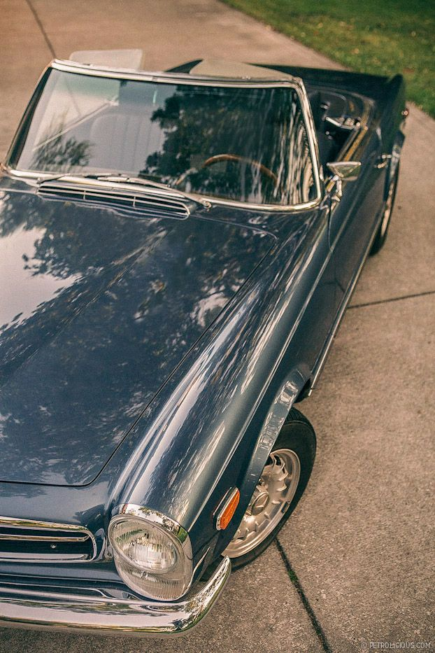 pinterest.com/fra411 #classic #car - Mercedes Benz 280SL Pagoda