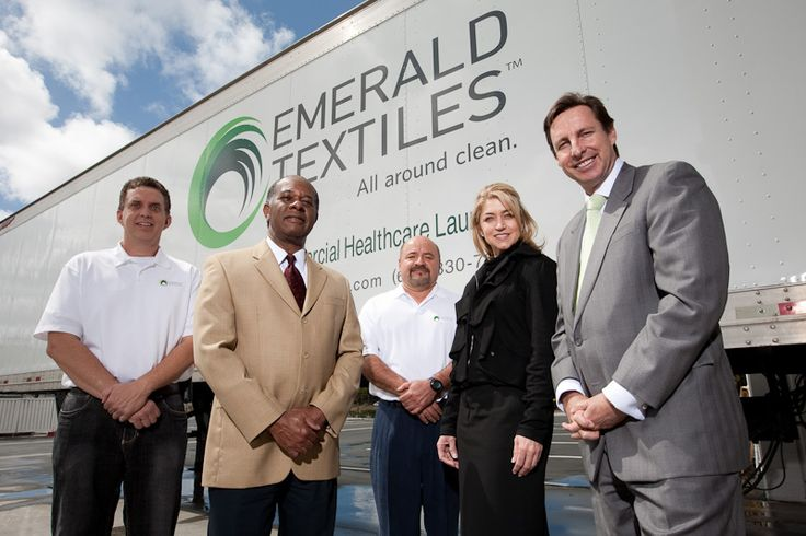 New Healthcare Laundry Service Opens its Doors #Emerald_Textiles_Blog
