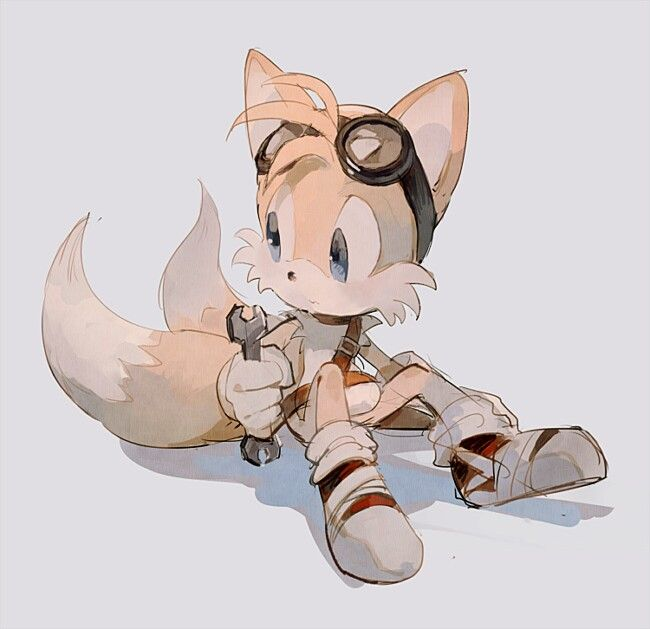 """Adorable Tails from """"Sonic Boom"""". So cute!"""