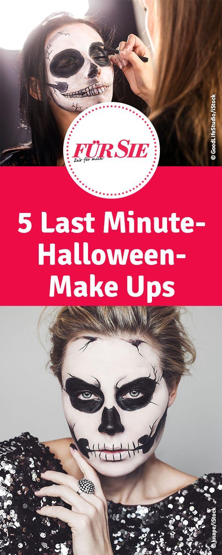 5 Last Minute-Halloween-Make Ups
