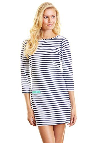 Cabana Life Womens Long Sleeve Dress Swim Cover Up Coastal Crush L >>> Click on the image for additional details.(This is an Amazon affiliate link and I receive a commission for the sales)