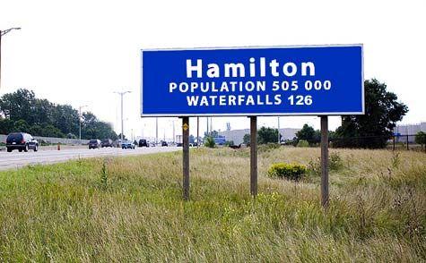 Hamilton the City of Waterfalls