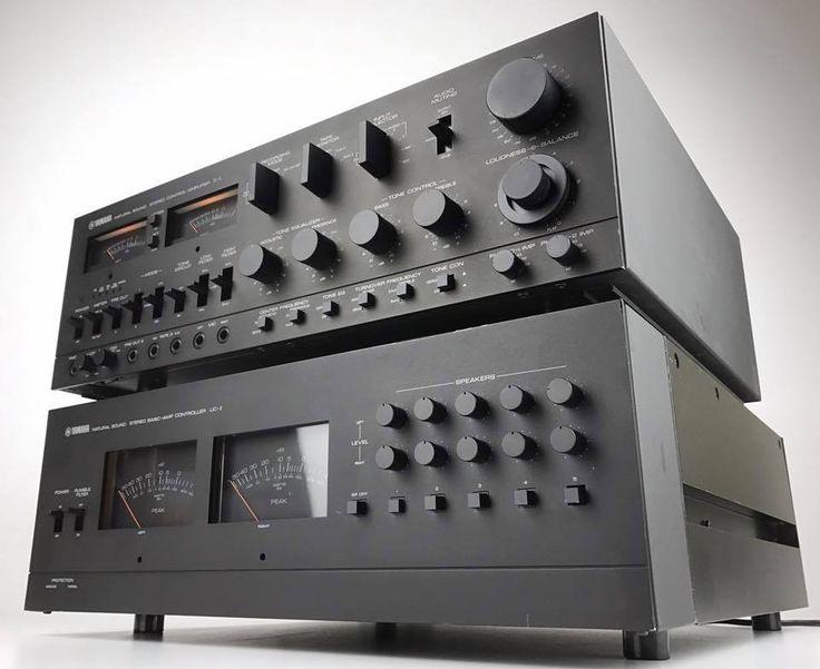 Yamaha B-1 & C-1