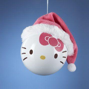 Hello kitty ornament - DIY inspiration anyone?