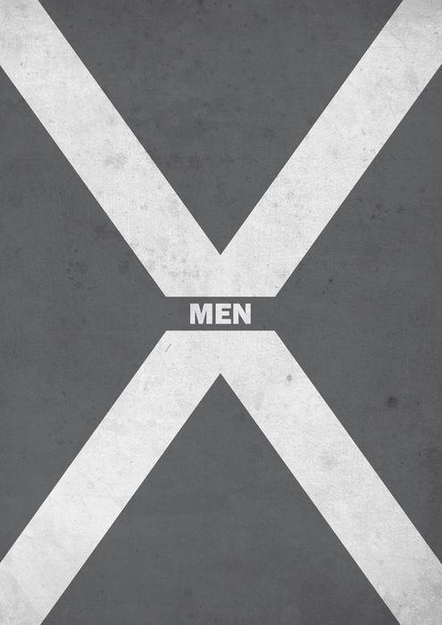 X-Men (2000) ~ Minimal Movie Poster by Thomas Girault