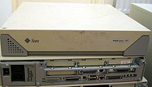 """The SPARCstation 20 (a.k.a. SS20, codename Kodiak) is a Sun Microsystems workstation based on the SuperSPARC or hyperSPARC CPU. It was the last model in the SPARCstation family of Sun """"pizza box"""" computers, which was superseded by the UltraSPARC design in 1995"""