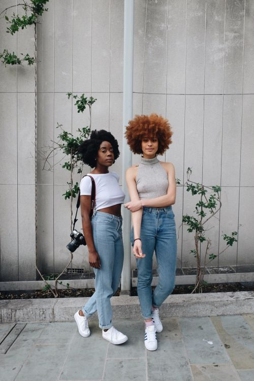 createdbyfaith:  Denim & Nature • christinvldn and I (@hannahfaith__)