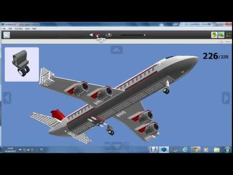 How to build a huge LEGO airport - YouTube