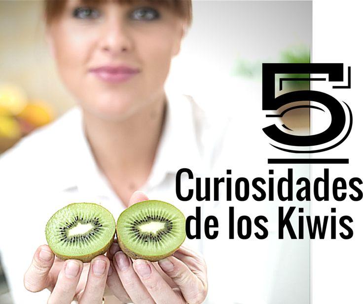 Datos curiosos sobre los #Kiwis que quizás no conocías. Publicado en el Blog de www.cultivatuskiwis.com #Kiwis #tiendaonline #fruta #nutrición #saludable