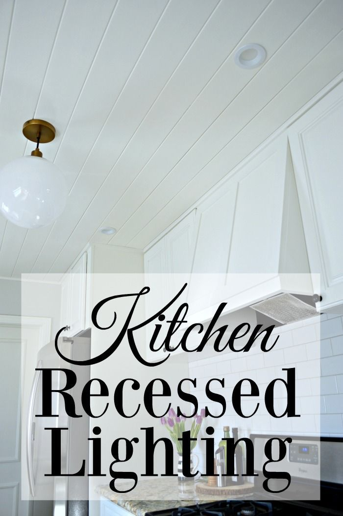 Adding recessed lighting to a formerly small and dark galley kitchen. | chatfieldcourt.com