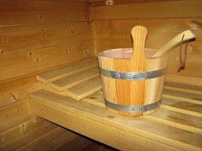 Superb Sauna selber bauen komplett f r unter Euro