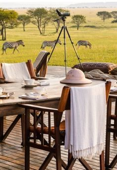Out Of Africa Safari Dining