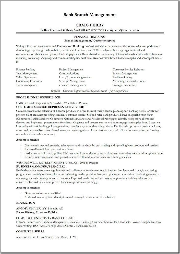 Resume for bank tellers uptodate teller supervisor