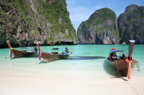 """Thailand - This is where """"The Beach"""" was filmed with Leanardo DeCaprio"""