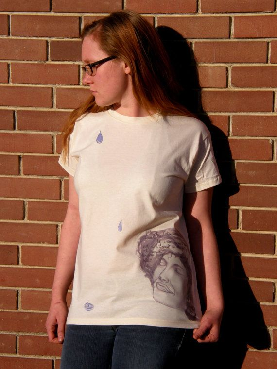 The Intoxication Of A Smile, Organic Cotton T-Shirt