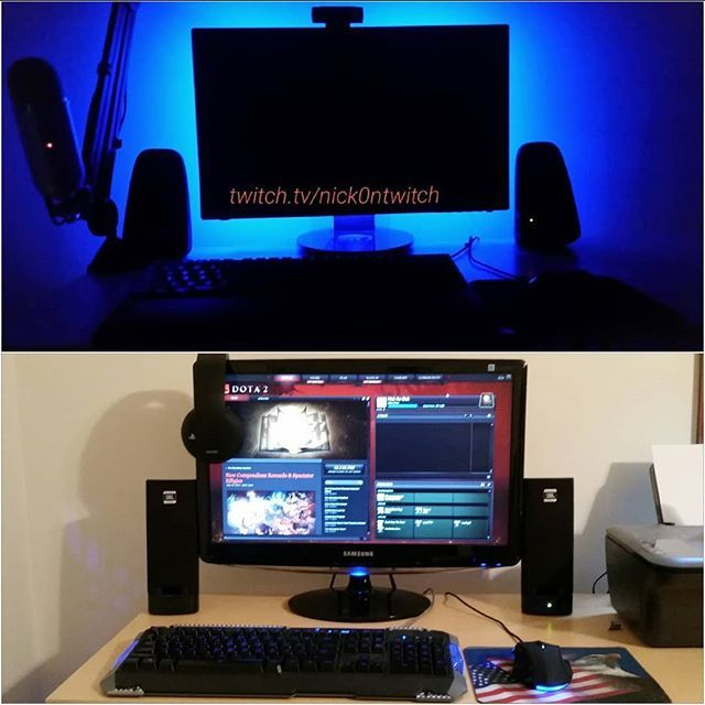 New setup vs old setup  Always upgrading Please subscribe and follow