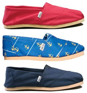 Shoes that are creating their own path in our world: Part 1; toms shoes