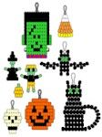Free Halloween Pony Bead Patterns from MakingFriends.com where you can also find supplies.