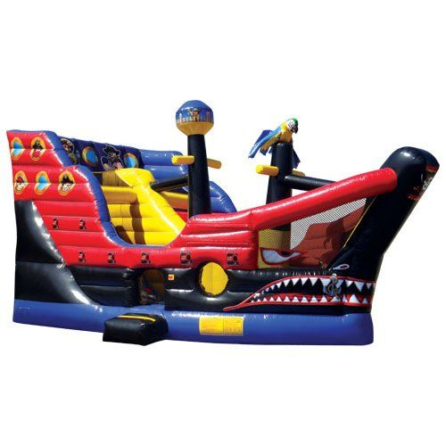 Pirates of Bermuda Obstacle Course by Ninja Jump - Bounce Houses Now