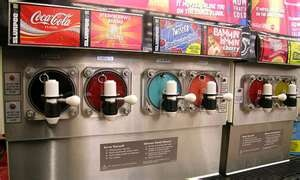 A slurpee machine for alcohol infused slurpees.which i could rent one of these for our wedding ;)