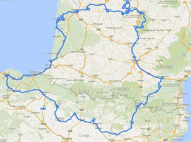 Viaje en autocaravana por el sur de Francia