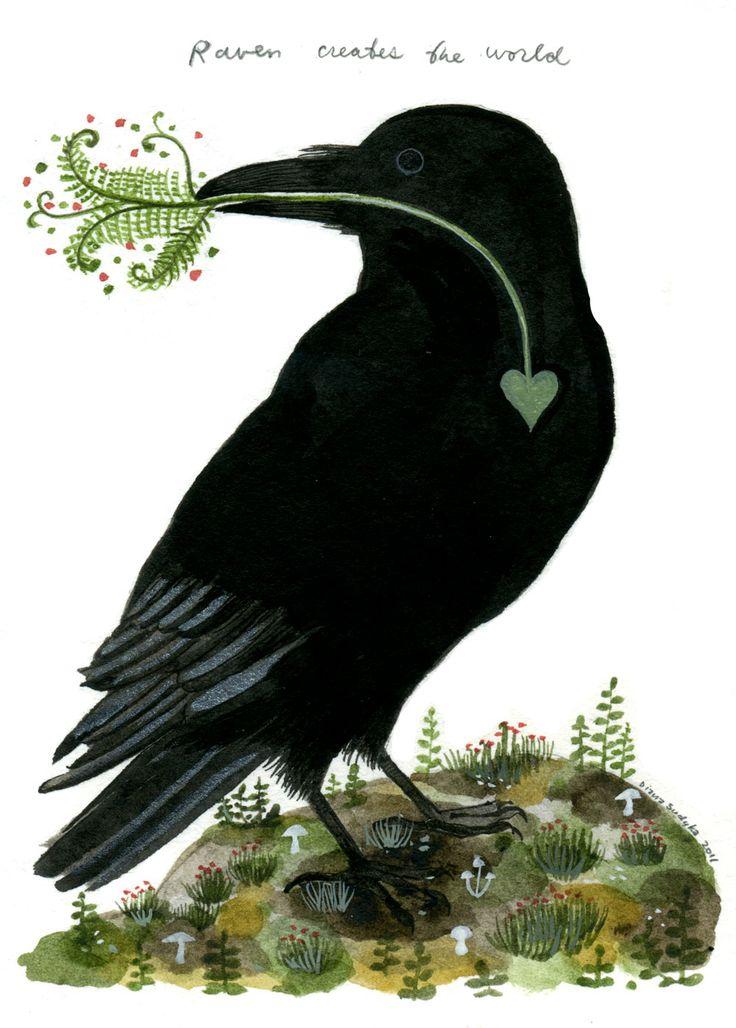Продажа открытка худ ворона с аттестатом зрелости